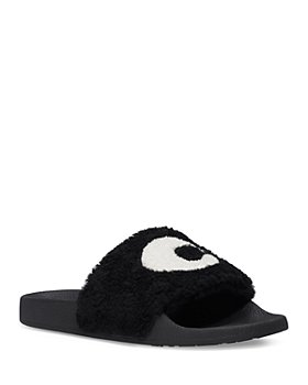 COACH - Women's Ulla Shearling Slide Sandals