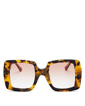 Karen Walker - Women's Square Sunglasses, 49mm