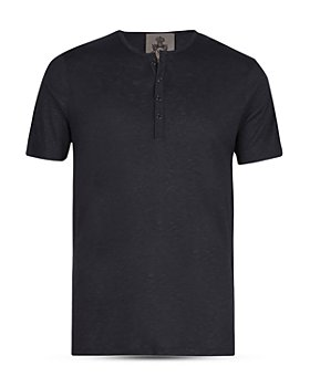 John Varvatos Collection - Slim Fit Henley Tee
