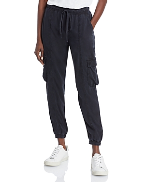 Cropped Cargo Track Pants