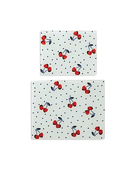 kate spade new york - Vintage Cherry Dot 2 Piece Prep Board Set