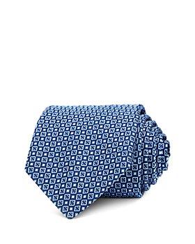 BOSS - Medallion Grid Silk Classic Tie