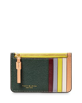 Tory Burch - Perry Color Blocked Leather Card Case