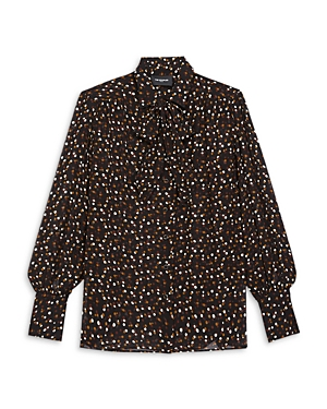 The Kooples DOT PRINT BLOUSE