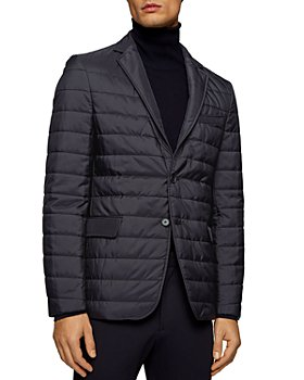 BOSS - Havon Slim Fit Quilted Sport Jacket