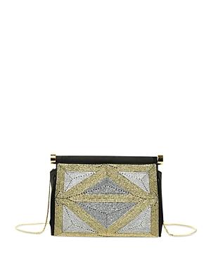 Alberta Ferretti Embellished Satin Evening Bag-Women