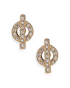 Ralph Lauren - Toggle Shaped Stud Earrings