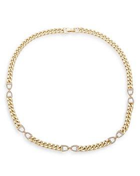 "Ralph Lauren - Stirrup Link Necklace, 16"""