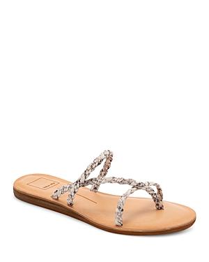 Women's Dexla Woven Thong Sandals
