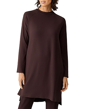 Eileen Fisher CREWNECK JERSEY DRESS