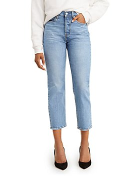 Levi's - Wedgie Straight Cropped Jeans in Luxor Lanes