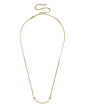 Baublebar Etta 18K Yellow Gold Vermeil Necklace, 16