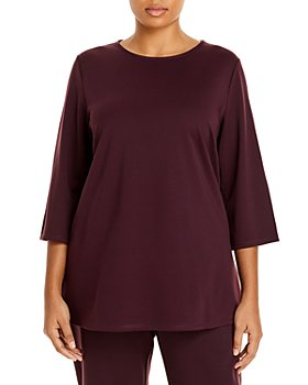 Eileen Fisher Plus - Boat Neck Top