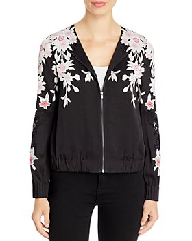 Kobi Halperin - Lacey Floral-Print Jacket