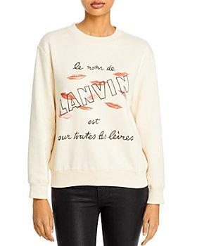 Lanvin - Logo Sweatshirt