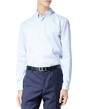 The Kooples - Classic Collar Shirt with Embroidered Logo