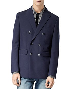 The Kooples - Double Breasted Navy Jacket