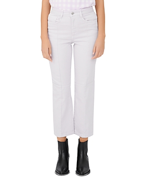 Maje PERRY STRAIGHT-LEG JEANS IN PARMA VIOLET