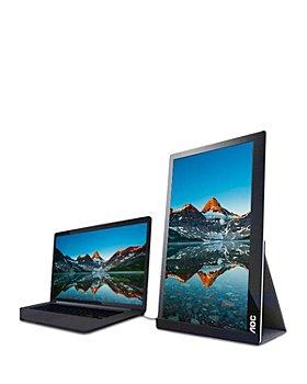 "AOC - 16"" Ultra Slim IPS Portable USB-C Touch Monitor"