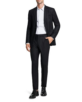 Theory - Bowery & Zaine Stretch Flannel Extra Slim Fit Suit Separates