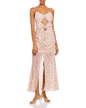Significant Other - Angelina Floral Print Maxi Dress