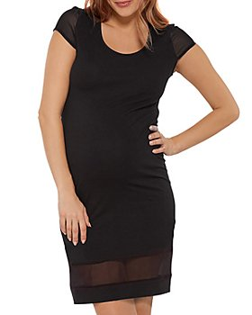 Stowaway Collection - Little Black Maternity Dress