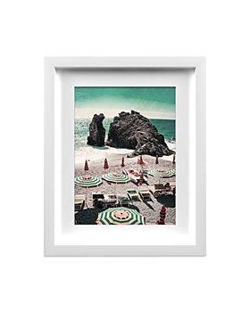 "Whom Home - Rocky Beach Wall Art, 13"" x 16"""