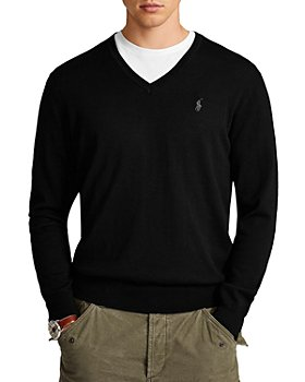 Polo Ralph Lauren - Washable Merino Wool V-Neck Sweater