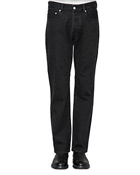 Officine Générale - James Straight Jeans in Black
