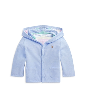 Ralph Lauren POLO RALPH LAUREN BOYS' COTTON REVERSIBLE HOODED JACKET - BABY