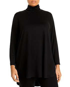 Eileen Fisher Plus - Jersey Turtleneck Tunic