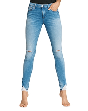 rag & bone Cate Mid-Rise Ankle Skinny Jeans in Hazy Daze-Women