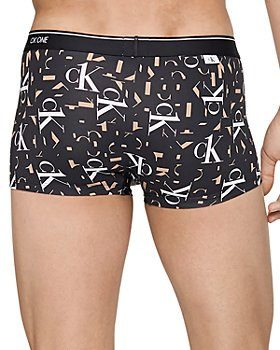 Calvin Klein - Low-Rise Rose Print Boxer Briefss