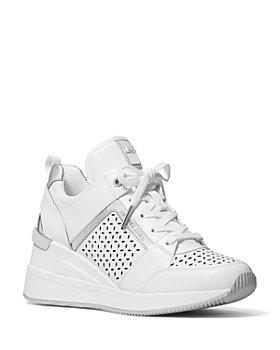 MICHAEL Michael Kors - Women's Georgie Low Top Wedge Sneakers