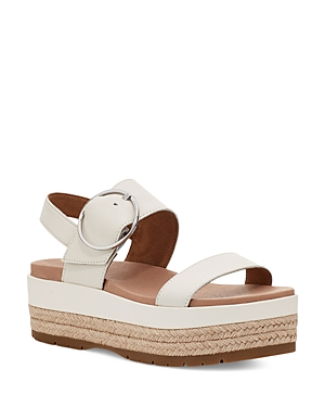 Ugg WOMEN'S APRIL ESPADRILLE PLATFORM SANDALS