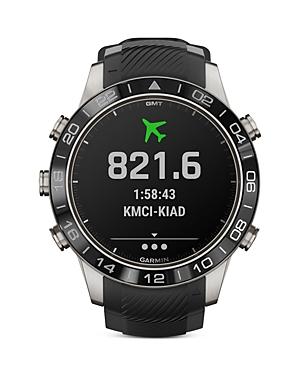 Garmin Marq Aviator Performance Edition Smart Watch, 46mm