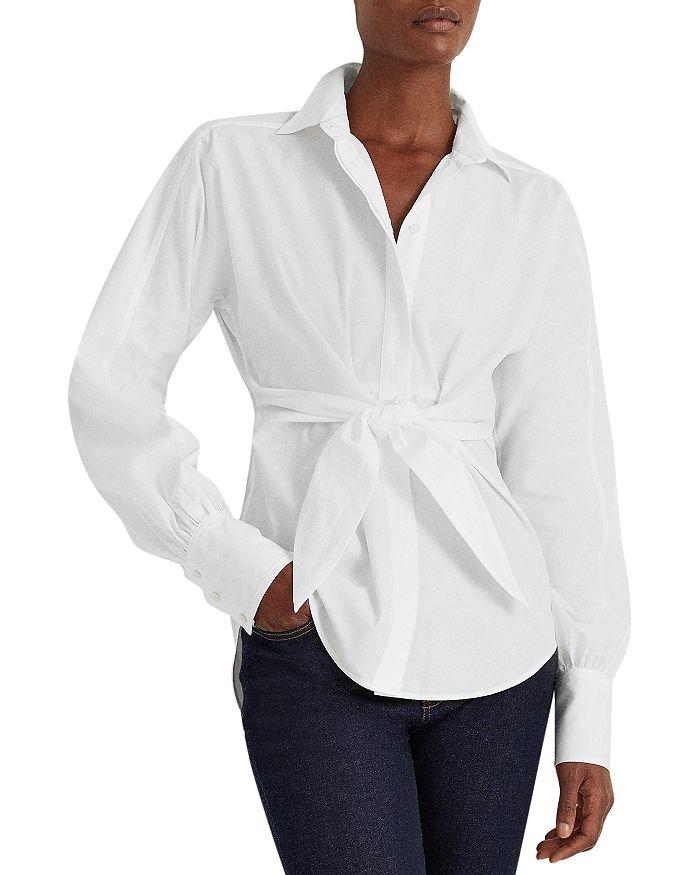 Ralph Lauren - Tie Front Shirt