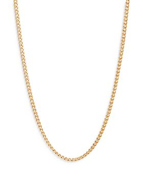 """JOHN HARDY - 18K Yellow Gold Classic Curb Thin Chain Necklace, 24"""""""