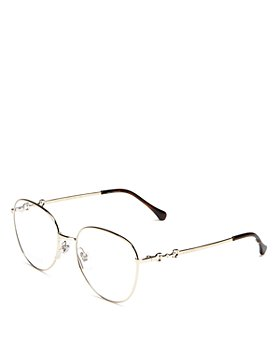 Gucci - Women's Round Clear Glasses, 51mm