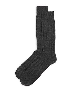 The Men's Store at Bloomingdale's - Cashmere-Blend Crew Socks - 100% Exclusive