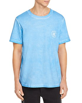 Helmut Lang - Logo Graphic Garment Dyed Tee - 100% Exclusive