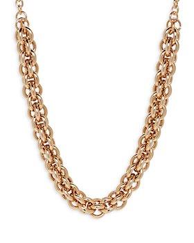 "AQUA - Double Link Chain Necklace, 22"" - 100% Exclusive"
