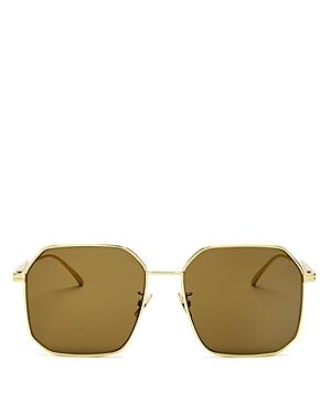 Bottega Veneta Sunglasses WOMEN'S SQUARE SUNGLASSES, 58MM