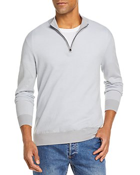 The Men's Store at Bloomingdale's - Cotton Half Zip Pullover - 100% Exclusive
