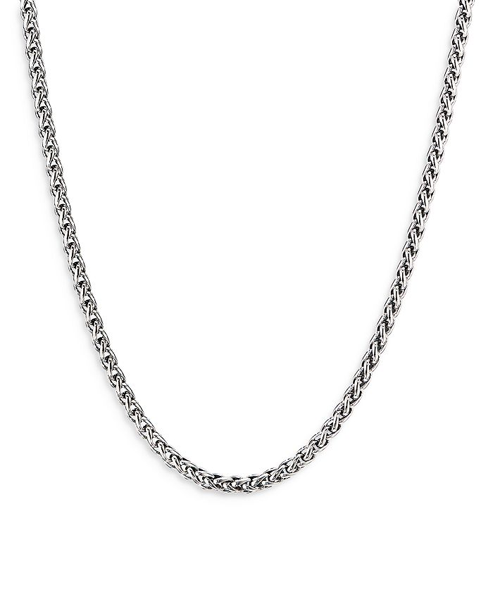 David Yurman - Sterling Silver Wheat Chain Necklace, 24""