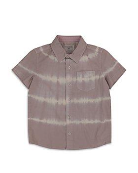 Sovereign Code - Boys' Hawthorne Tie Dye Short Sleeve Button Down Shirt - Little Kid, Big Kid