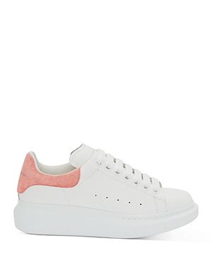 Alexander McQUEEN Women's Oversized Suede Heel Detail Sneakers
