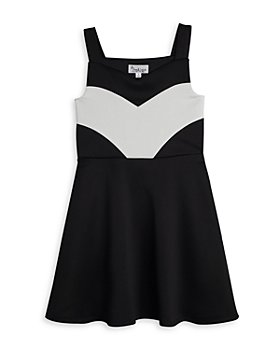 Pippa & Julie - Girls' Scuba Fit & Flare Dress - Big Kid