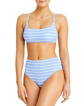Splendid - Atmos Bralette Bikini Top & High Waist Bottoms