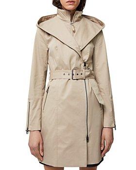 Mackage - Adela Belted Hooded Trench Coat